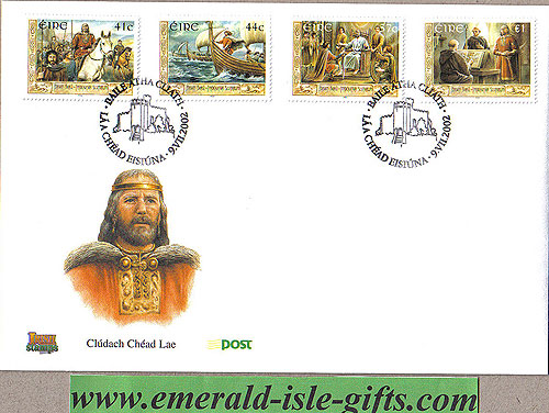 Ireland 2002 Fdc Brian Boru High King Ireland (an Post)