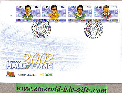 Ireland 2002 Fdc Gaa Hall Of Fame Part 2 (an Post)