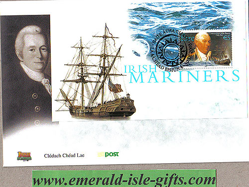 Ireland 2003 Fdc John Barry Miniature Sheet (an Post)