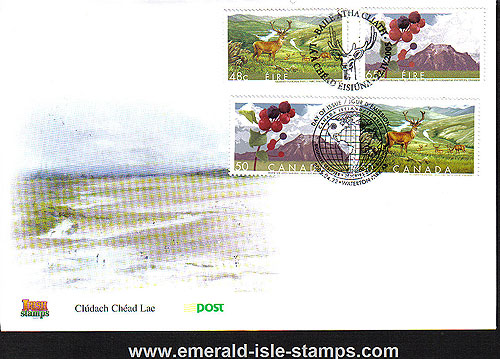 Ireland 2005 Biospheres Canada Jt Iss Fdc (an Post)