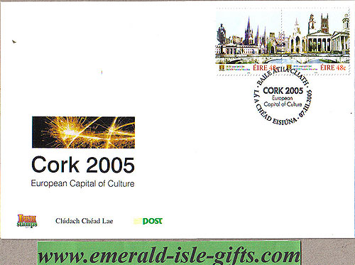 Ireland 2005 Cork 2005 European Capital Culture Fdc