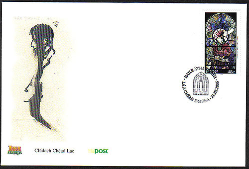 Ireland 2006 Harry Clarke Artist Fdc First Day Cover