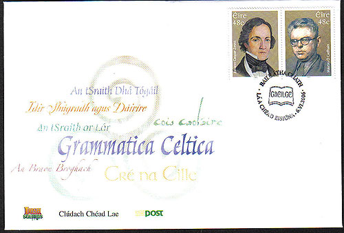 Ireland 2006 Celtic Scholars Set Of 2 Fdc (2)