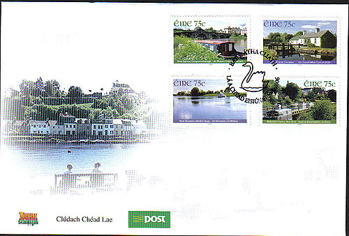 Ireland 2006 Irish Inland Waterways First Day Cover