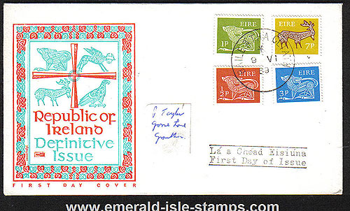 1969 Ireland Fdc Gerl Pre-dec Med Vals June (philart)