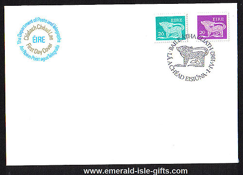 1982 Ireland Fdc Gerl 1981-2 Coil Stamps 26p 29p