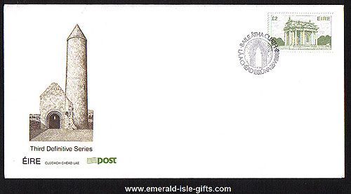 1988 Ireland Fdc 6th Def Series Archit Phase 6 ?