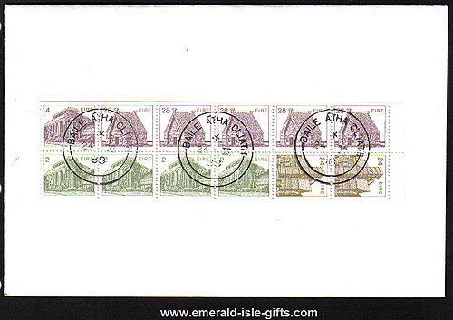 1988 Ireland Fdc Sb31 (sg) ? Booklet Pane First Day