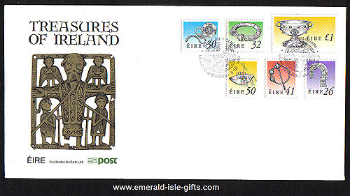 1990 Ireland Fdc 7th Def Series Treasures Phase 1 To ?