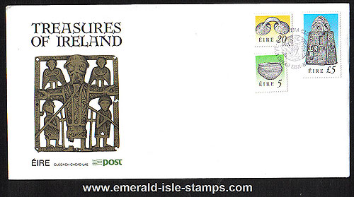 1991 Ireland Fdc 7th Def Series Treasures Phase 3 To ?