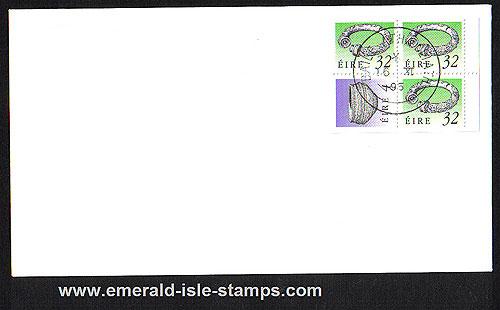 1995 Ireland Fdc Sb46a (sg) ? Booklet Pane Gleni(