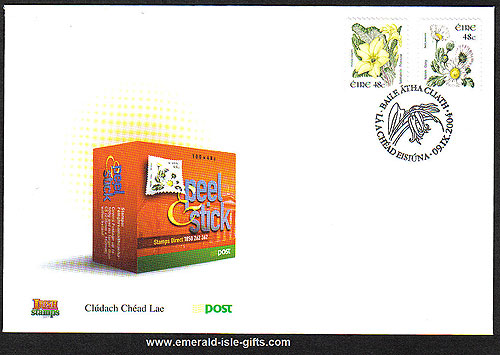 2004 Ireland Fdc 9th Def Wild Flowers Self-adhesive