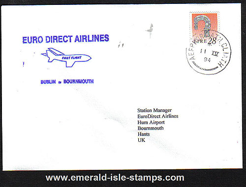 Ireland 1994 Ffc Dublin To Bournmouth Euro Direct