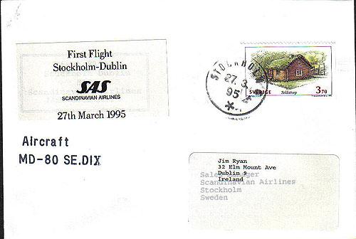 Ireland 1995 FFC SAS Stockholm Dublin