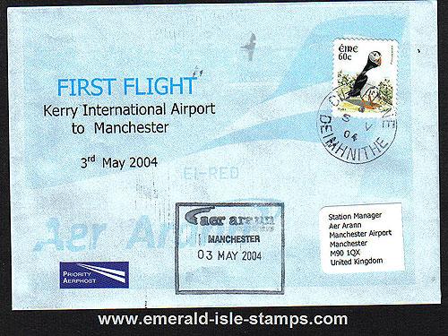 Ireland 2004 Ffc Kerry To Manchester Aer Arann