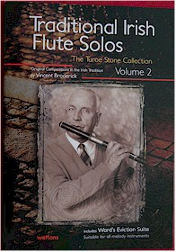 Volume 2 Traditional Irish Flute Solos Book (The Turoe Stone Collection)