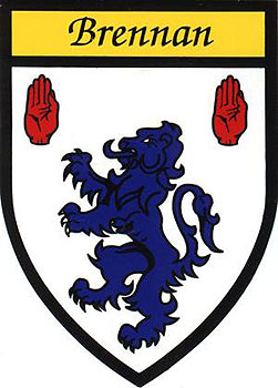 Brennan Coat of Arms (Sticker)