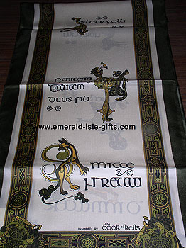 Irish Celtic Scarf Long - 5