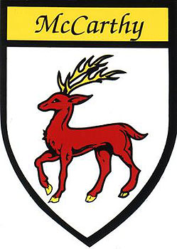 McCarthy Coat of Arms (Sticker)