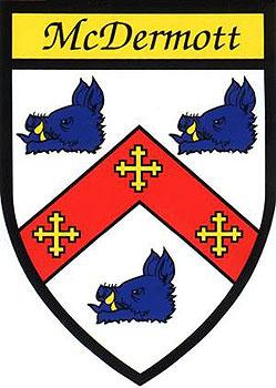 McDermott Coat of Arms (Sticker)