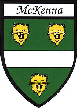 McKenna Coat of Arms (Sticker)