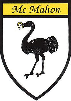 McMahon Coat of Arms (Sticker)