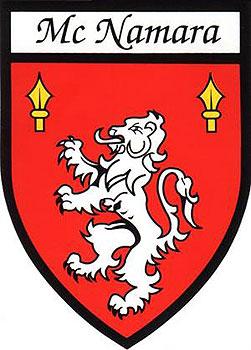 McNamara Coat of Arms (Sticker)