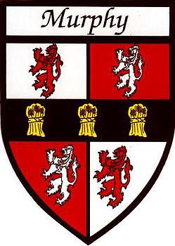 Murphy Coat of Arms (Sticker)