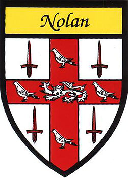 Nolan Coat of Arms (Sticker)