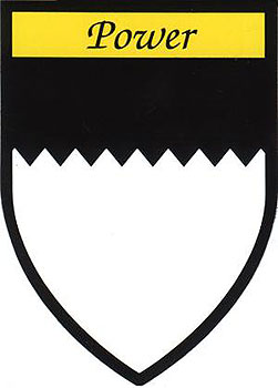 Power Coat of Arms (Sticker)