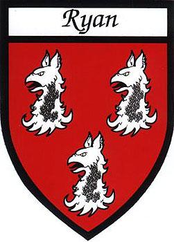 Ryan Coat of Arms (Sticker)