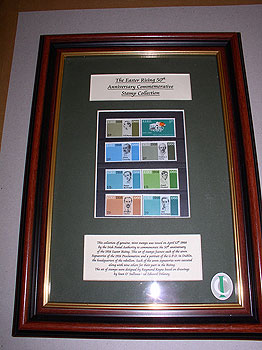 Ireland 1966 Easter Rising Framed 1966 Stamp Collection