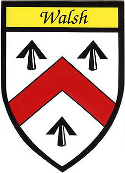 Walsh Coat of Arms (Sticker)