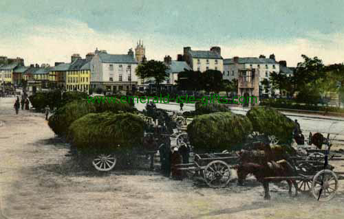 Galway Town - Market Day