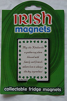 Irish Fridge Magnet - Kitchen Blessing