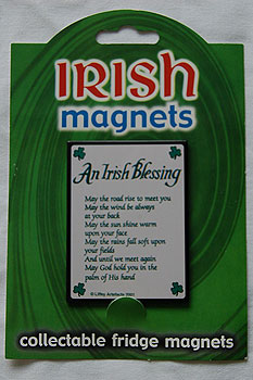 Irish Fridge Magnet - An Irish Blessing