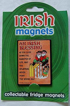 Irish Fridge Magnet - An Irish Blessing