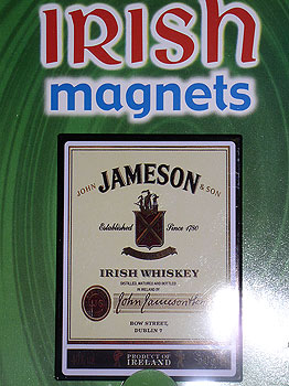 Jameson Irish Whiskey Fridge Magnet