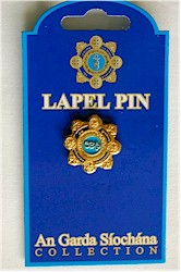 Irish Police Logo Lapel Pin