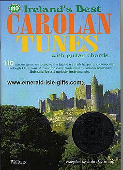 110 Irelands Best Carolan Tunes CD Edit. (Book & 2 CD Set)