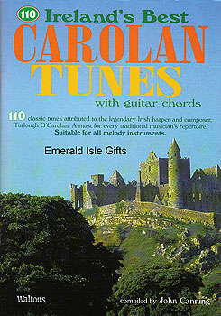 110 Irelands Best Carolan Tunes Book