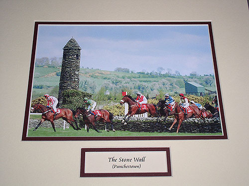 Kildare - Punchestown - Stone Wall