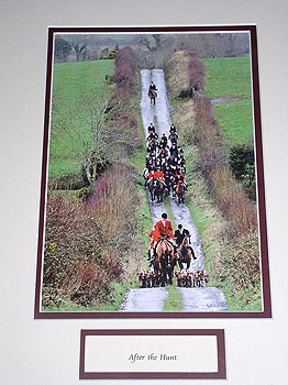 After The Hunt hunting (All pictures mounted or framed)