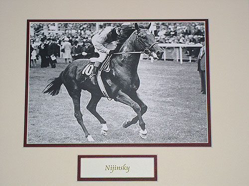 Nijinsky Black & White Pic
