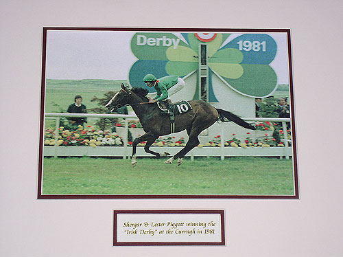 Shergar and Lester Piggott