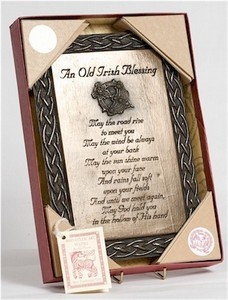 Traditional Irish Blessing Plaque
