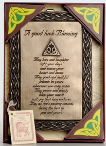 A Good Luck Bronze Blessing