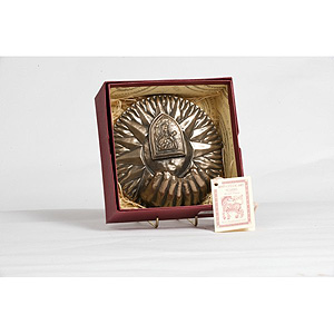 St Theresa Waterfont (.925 sterling silver)