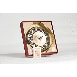 Numerical Bronze Celtic Clock
