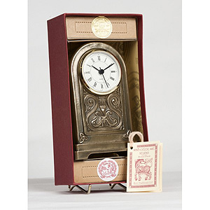 Celtic Carriage Bronze Clock
